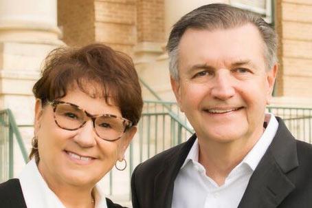 Brenda and Bill Damron