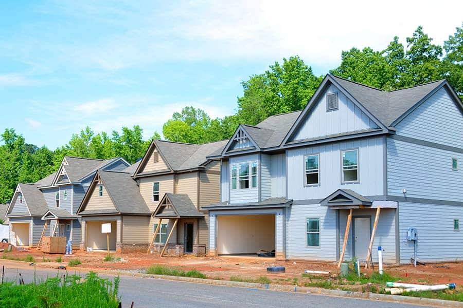 Newly Built Neighborhood