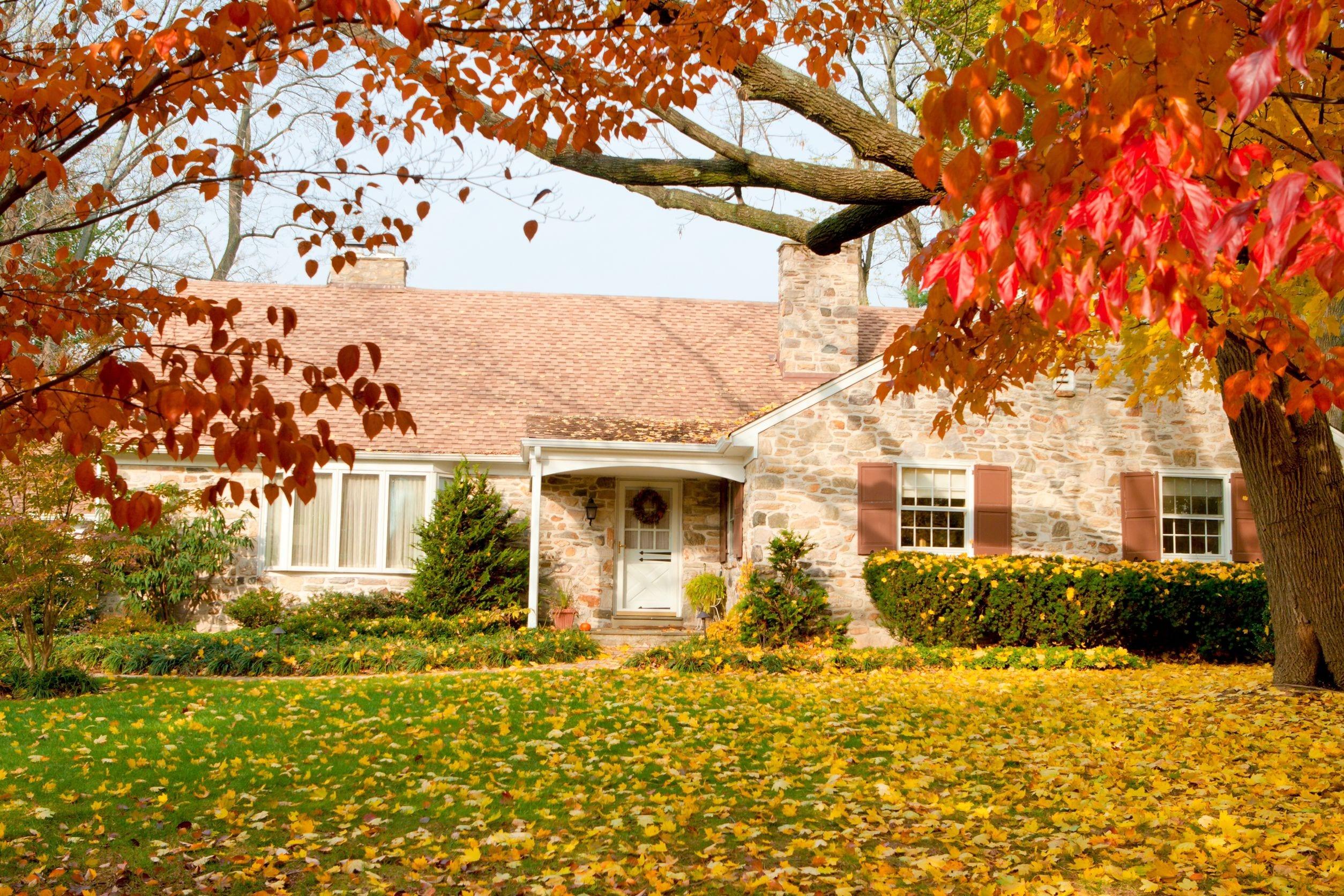 Fall House Exterior